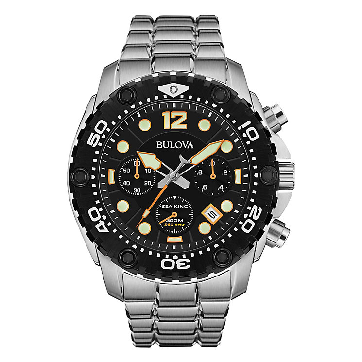 Bulova Sea King men's stainless steel bracelet watch - Product number 3542564