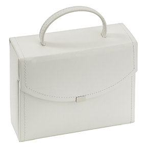White Travel Jewellery Suitcase - Product number 3542815