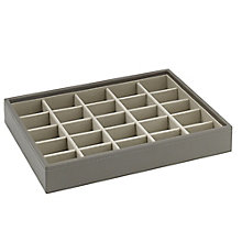Stackers Mink 25 Section Stacker Jewellery Box - Product number 3542831