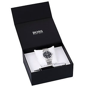 Hugo Boss Men's Pen & Bracelet Watch Gift Set - Product number 3546012