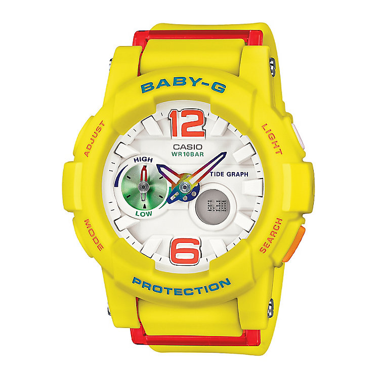 Baby-G G-Lide Ladies' Yellow Digital Watch - Product number 3546268