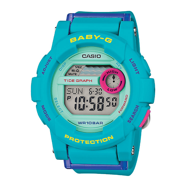 Baby-G G-Lide Ladies' Blue Digital Watch - Product number 3546284