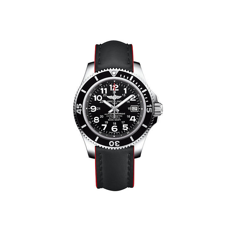 Breitling Superocean II 42 Men's Strap Watch