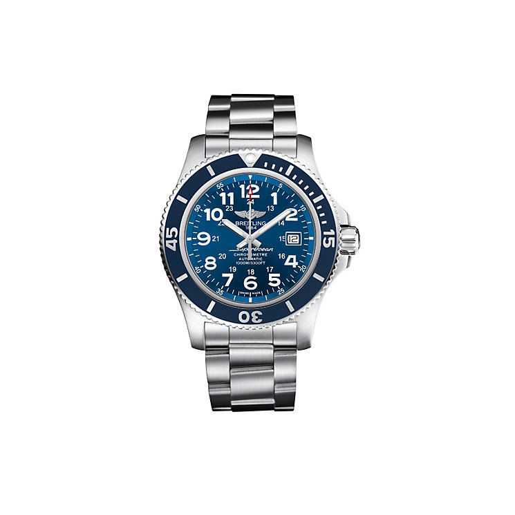 Breitling Superocean II 44 men's bracelet watch