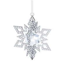 Swarovski 2015 Silver Tone Christmas Star Ornament - Product number 3557499