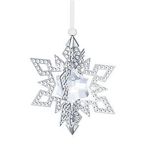 Swarovski 2015 Silver Tone Christmas Star Ornament - Product number 3557499