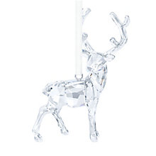 Swarovski Crystal Stag Hanging Ornament - Product number 3557669