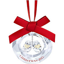 Swarovski Annual Edition 2015 Baby's 1st Christmas Ornament - Product number 3557685