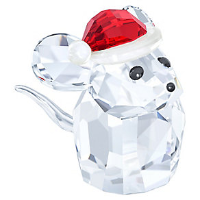 Swarovski Mouse With Santa Hat Figurine - Product number 3557707