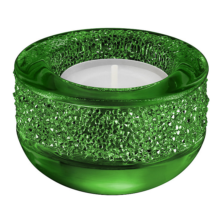 Swarovski Green Shimmering Crystal Candle Holder - Product number 3557960