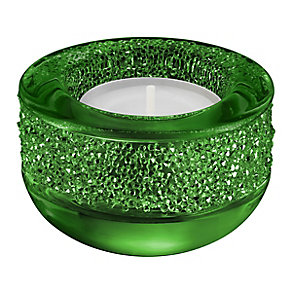 Swarovski Green Shimmering Crystal Candle Holder - Product number 3557960