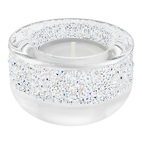 Swarovski White Shimmering Crystal Candle Holder - Product number 3558010