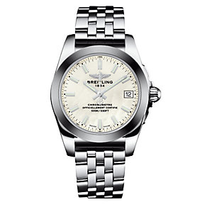 Breitling Galactic 36 Ladies stainless steel bracelet watch - Product number 3558142