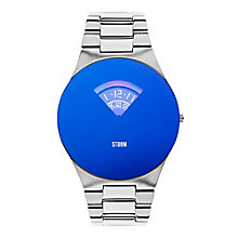 STORM Oblex Men's Blue Dial Stainless Steel Bracelet Watch - Product number 3562530
