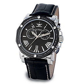 Le Vian men's stainless steel 0.64ct diamond watch - Product number 3565734