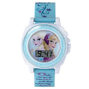 Children's Frozen Sound FX Digital Dial Rubber Strap Watch - Product number 3565904