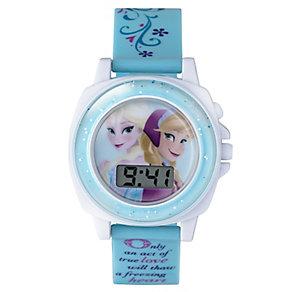 Children's Frozen Sound FX Digital Dial Rubber Strap Watch - Product number 3565904