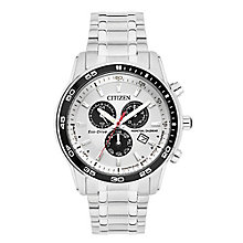 Citizen Eco-Drive Men's Stainless Steel Bracelet Watch - Product number 3565947