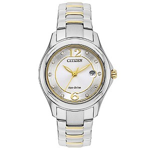 watches h samuel citizen eco drive ladies stainless steel bracelet watch product number 3565955