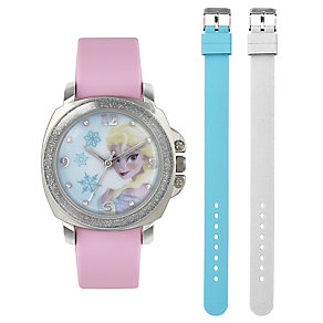 Children's Elsa Interchangeable Strap Watch Set - Product number 3565963