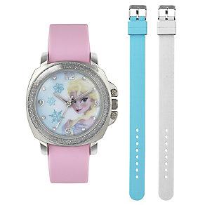 Children's Elsa Interchangeable Strap Watch Set - Product number 3565963