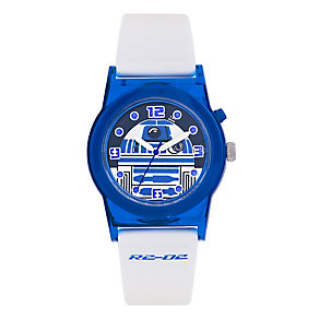 Star Wars™ R2-D2 White Strap Childs Watch - Product number 3566072