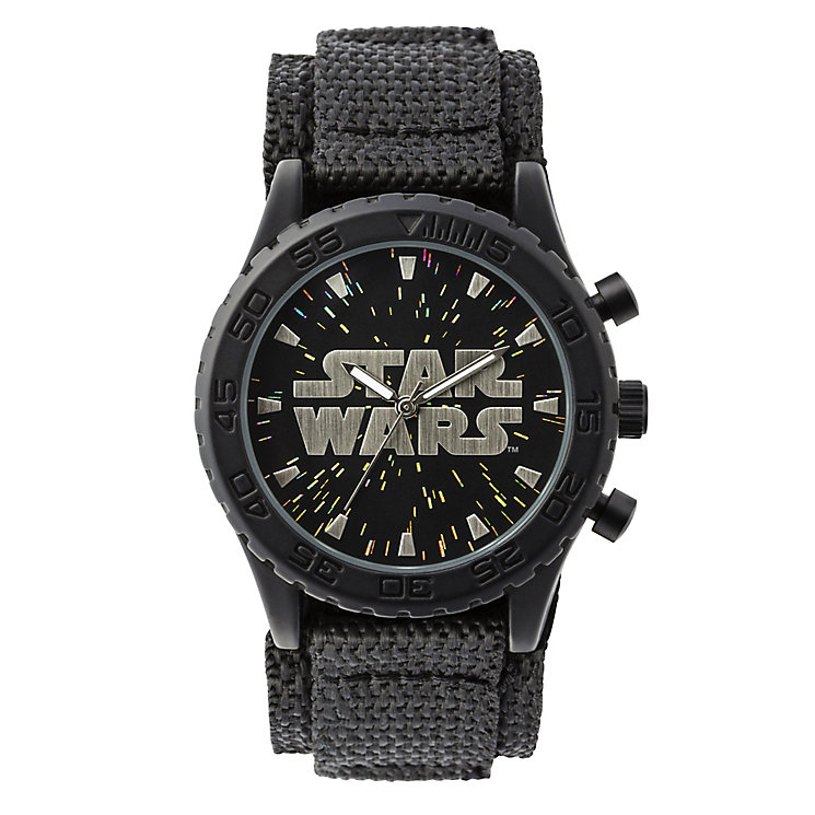 Star Wars™ Logo Childs Velcro Watch - Product number 3566080