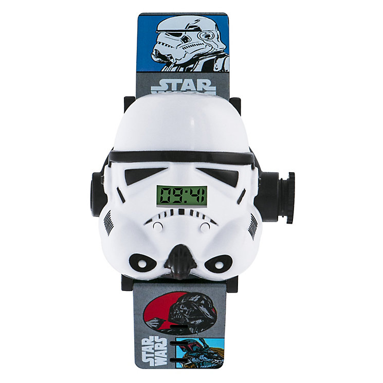 Star Wars™ Storm Trooper Projector Childs Watch - Product number 3566099