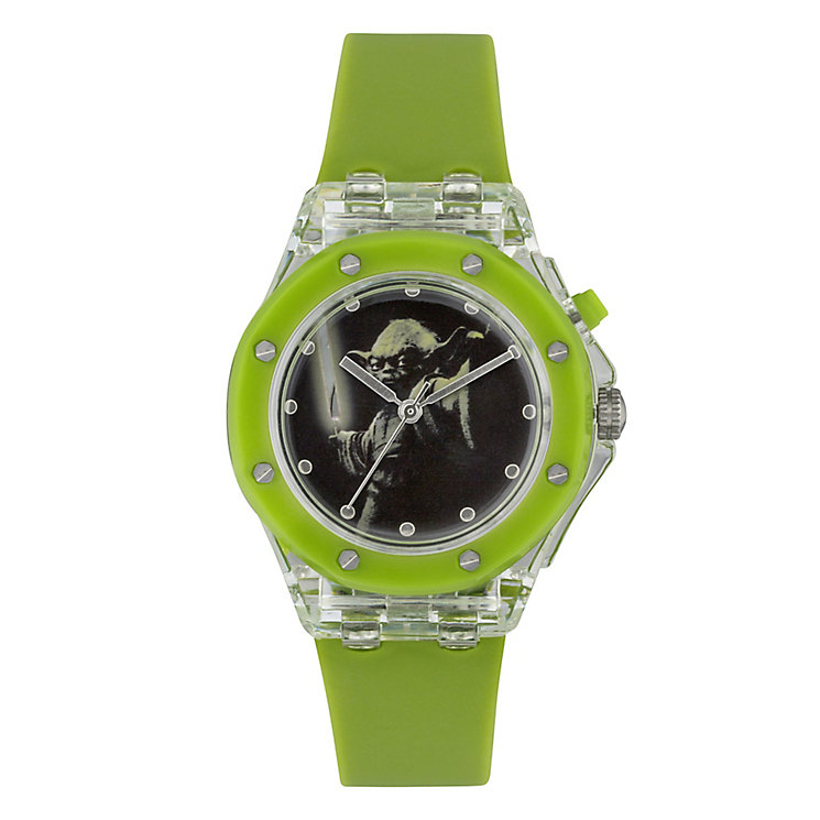 Star Wars Green Yoda Childs Watch - Product number 3566102
