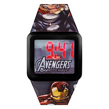 Children's Avengers Digital LCD Square Dial Strap Watch - Product number 3566145