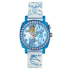 Children's Cinderella Light-Up Strap Watch - Product number 3566161
