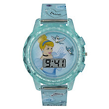 Children's Cinderella Digital LCD Dial Strap Watch - Product number 3566188