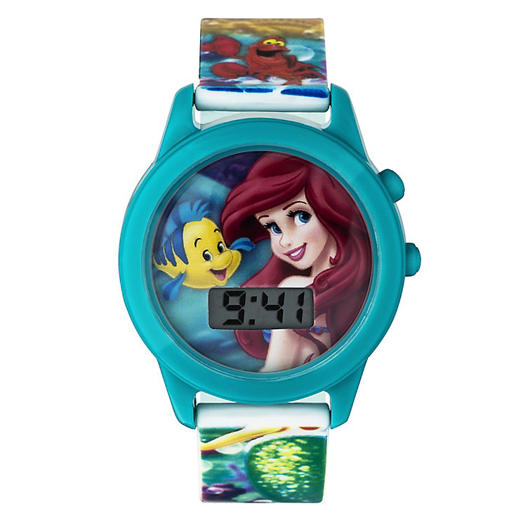 Children's Ariel Digital Dial Musical Strap Watch - Product number 3566196