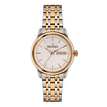 Dreyfuss & Co 1890 Men's Two Colour Bracelet Watch - Product number 3569489
