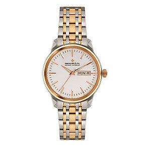 Dreyfuss & Co 1890 Men's Two Colour Bracelet Watch - Product number 3569489
