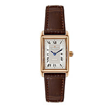 Dreyfuss & Co 1974 Rose Gold-plated White Strap Watch - Product number 3569632