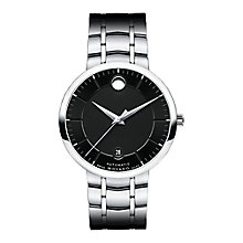 Movado 1881 men's stainless steel black dial bracelet watch - Product number 3572110