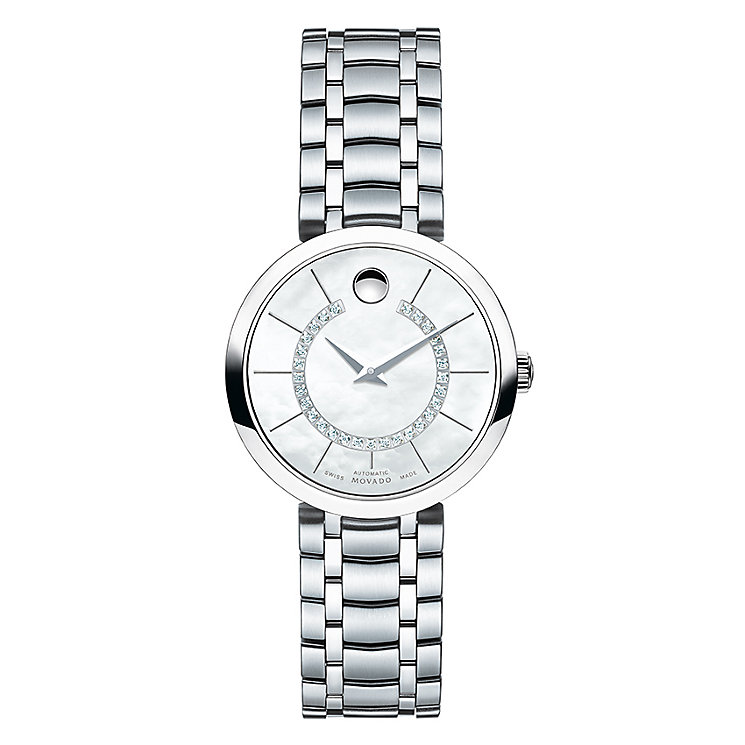 Movado 1881 ladies stainless steel bracelet watch - Product number 3572323