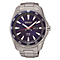 Seiko Men's Solar Blue Dial Bracelet Watch - Product number 3572919