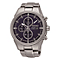 Seiko Solar Men's Titanium Stainless Steel Bracelet Watch - Product number 3572951