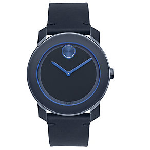 Movado Bold TR90 men's blue ion plated strap watch - Product number 3573818