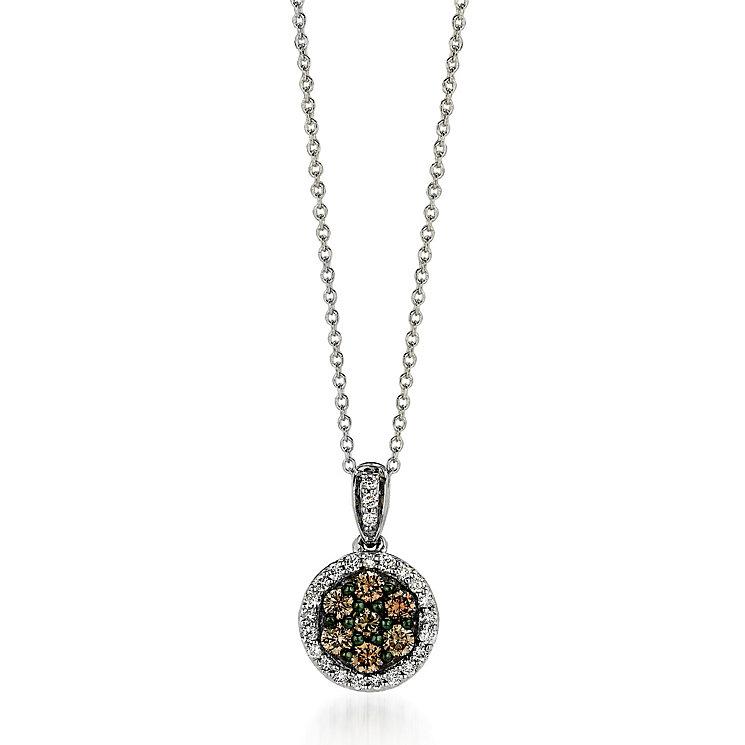 Le Vian 14ct Vanilla Gold diamond pendant - Product number 3574105