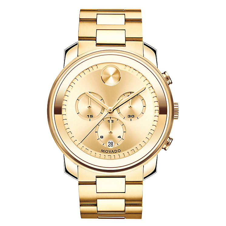 Movado Bold men's gold-plated bracelet watch - Product number 3574431