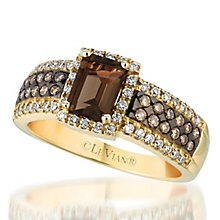 Le Vian 14ct Honey Gold diamond & quartz ring - Product number 3575012