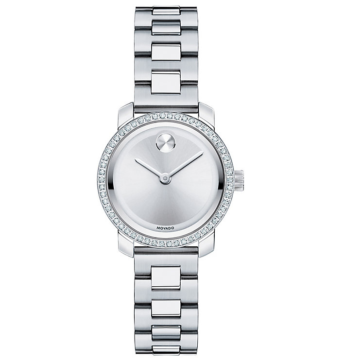Movado Bold ladies' stainless steel bracelet watch - Product number 3576094