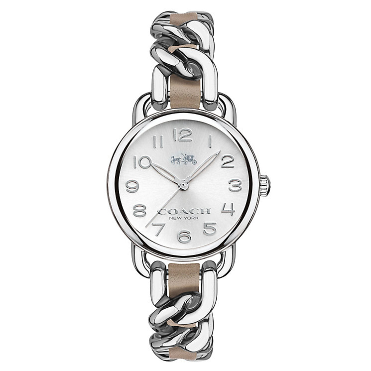 Coach ladies' stainless steel bracelet watch - Product number 3576272