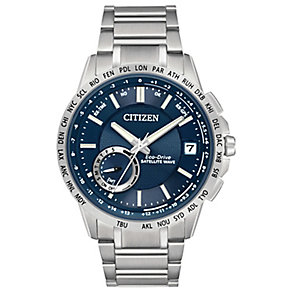 Citizen Satellite Wave Exclusive Men's Bracelet Watch - Product number 3576361