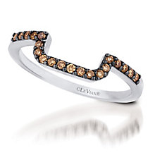 Le Vian 14ct Vanilla Gold Chocolate Diamond band - Product number 3579220