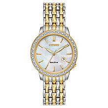 Citizen Eco-Drive Ladies' Stainless Steel Bracelet Watch - Product number 3579859