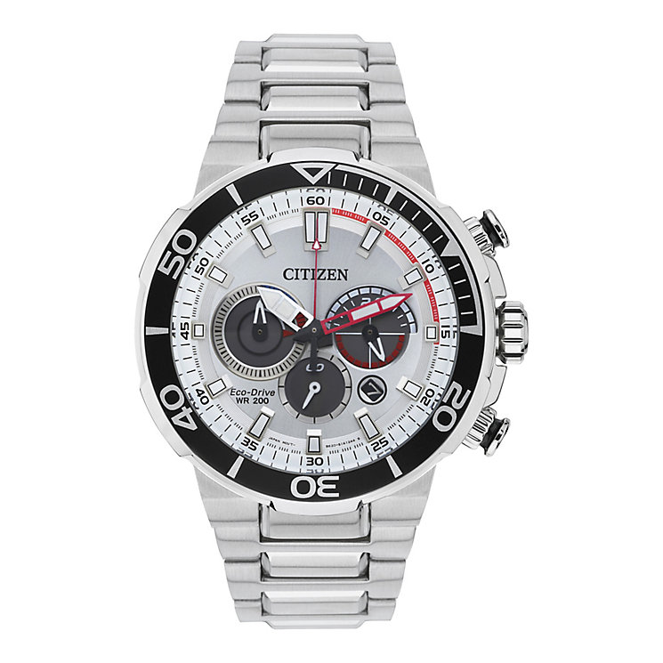 Citizen Eco-Drive Men's Stainless Steel Bracelet Watch - Product number 3581853